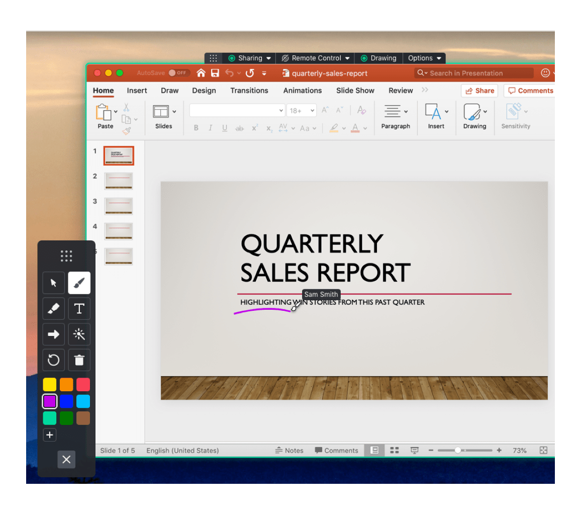 Make Screen Annotations With Our Meeting Drawing Tools Gotomeeting