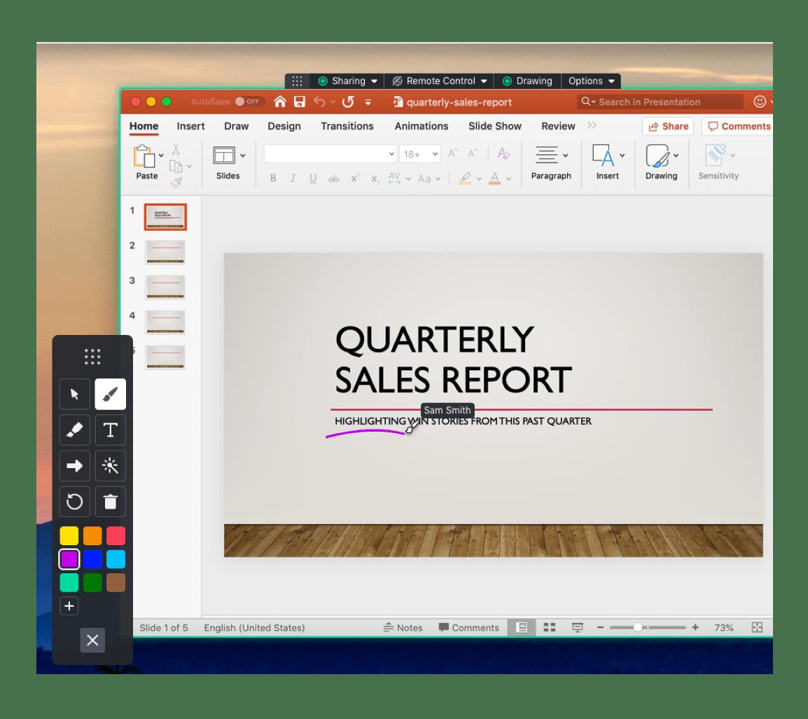 Meeting Screen Share Drawing Tools Gotomeeting